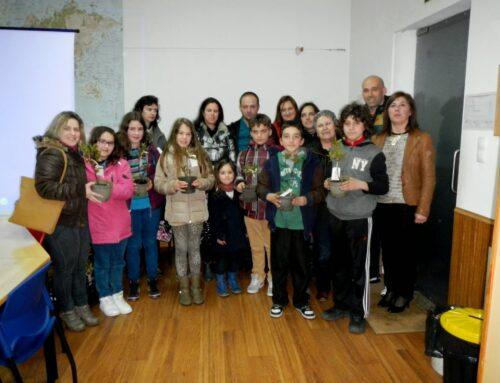 Crianças de S. João da Madeira plantam árvores no mapa