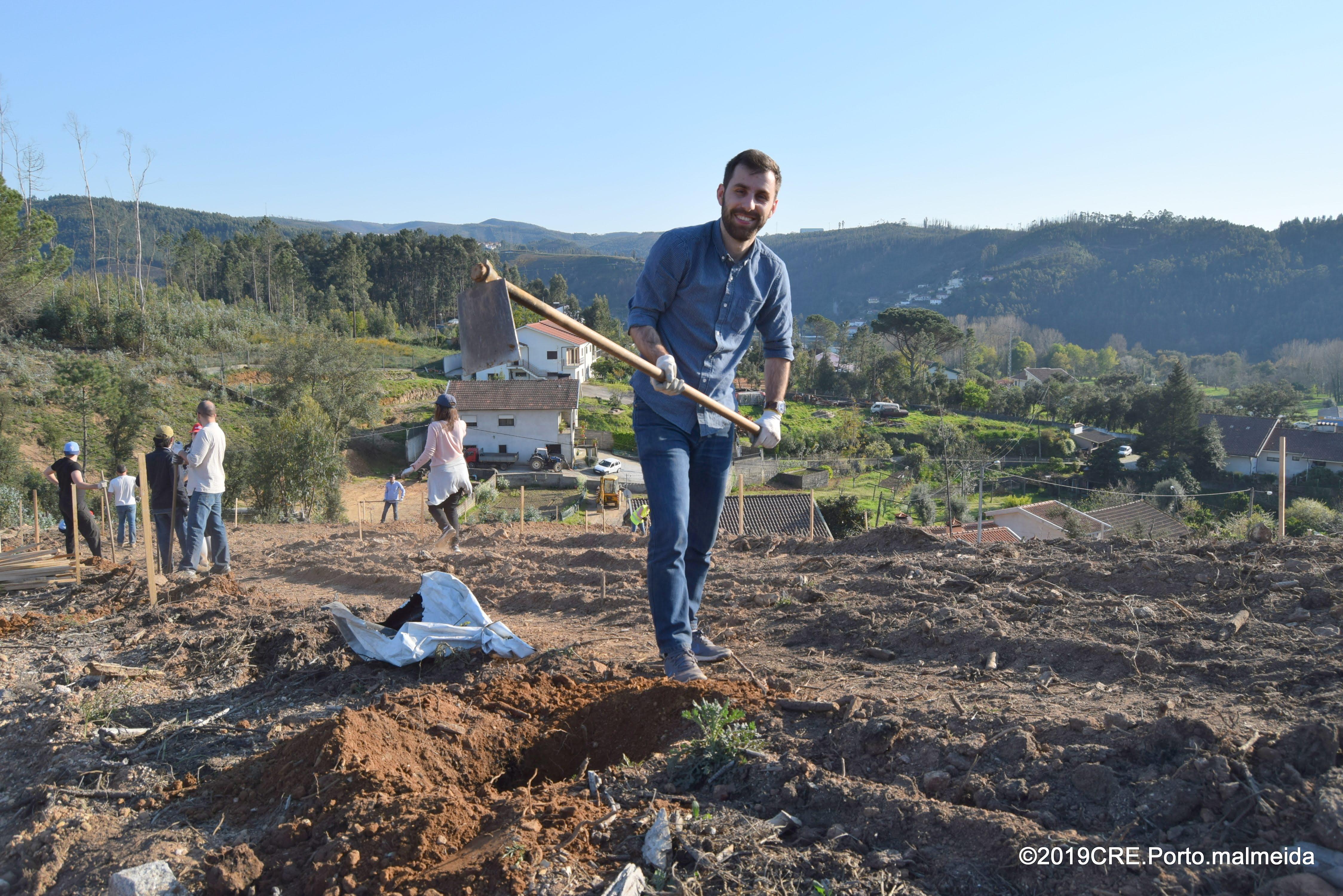 Agência de Energia do Porto planta floresta nativa