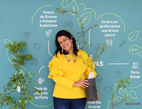 Portuenses já começaram a receber as suas árvores!